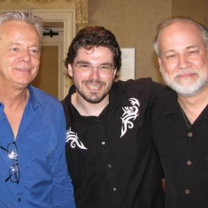 Two of the best guitarists on earth - Australia's Tommy Emmanuel and Germany's Joscho Stephan at the Chet Atkins Appreciation Society in Nashville.